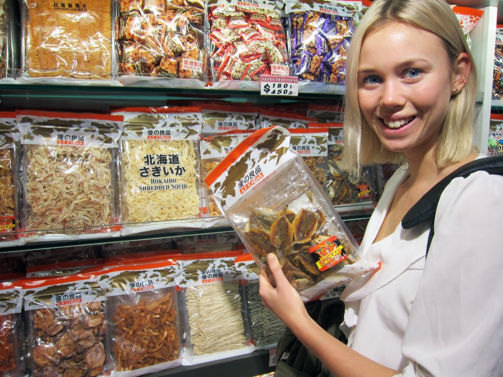 Jenny i Hong Kong