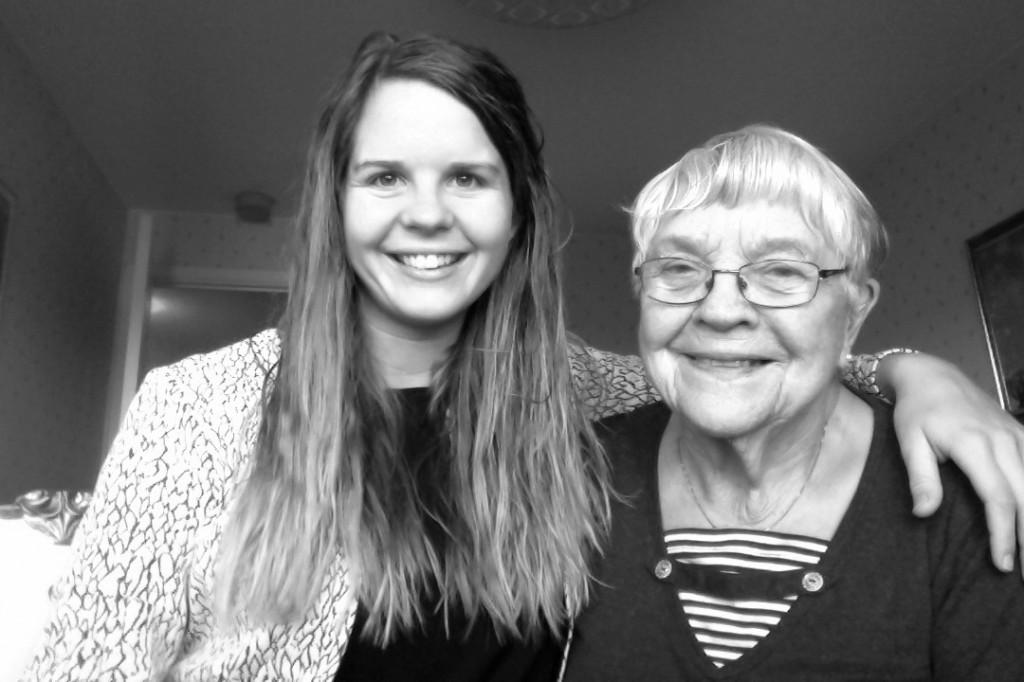 Jag och mormor