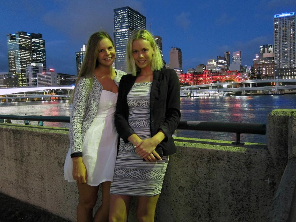 Jag och Jenny i Brisbane :)