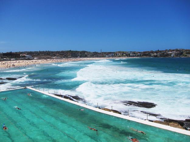 Populära Bondi Beach