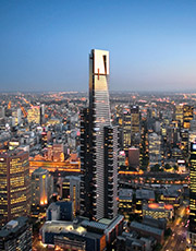 Eureka Towers Melbourne