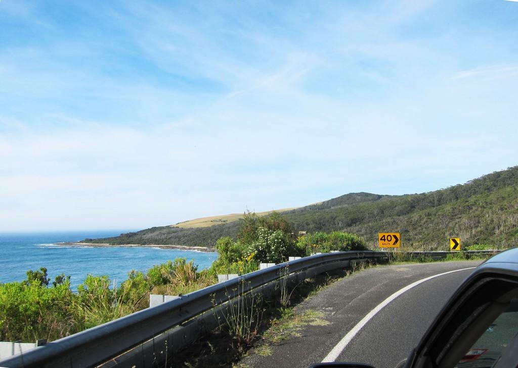 Det här är Great Ocean Road!